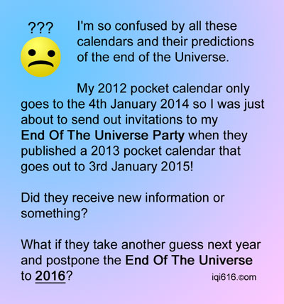 So when is the Universe supposed to end?